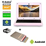 Tablet, Notebook, Netbook, Android 4.2, HDMI, Screen 10�Inch WiFi SD MMC + Laptop Bag pink pink 10.1 pouces