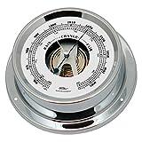 Fischer maritime ship accessories barometer 1506B-47 chromed brass, 110 mm