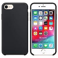 Microsonic Apple iPhone SE 2020 Kılıf Liquid Lansman Silikon Siyah