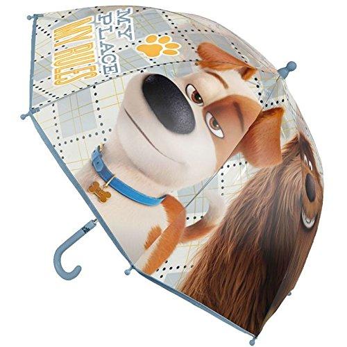 Cerdá Pets Mascotas Paraguas Clásico, 63 cm, Azul Cerdá