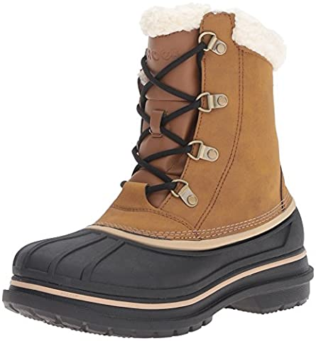 crocs AllCast II Boot, Herren Schneestiefel, Braun (Wheat/Black 21A), 45/46 EU (10 Herren UK)