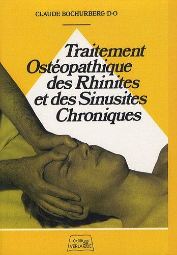 Traitement ostéopathique des rhinites et des sinusites chroniques