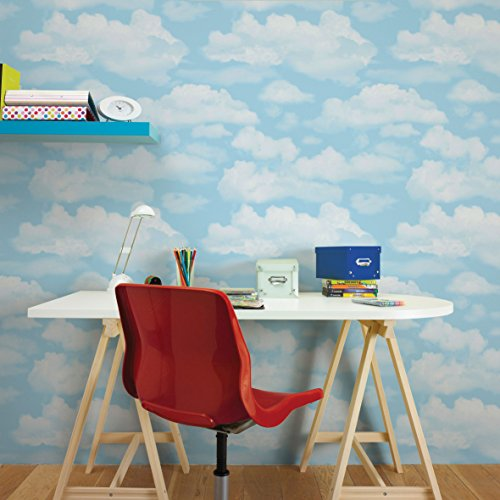 fresco-great-value-cloud-nine-sky-print-clouds-wallpaper-bedroom-playroom
