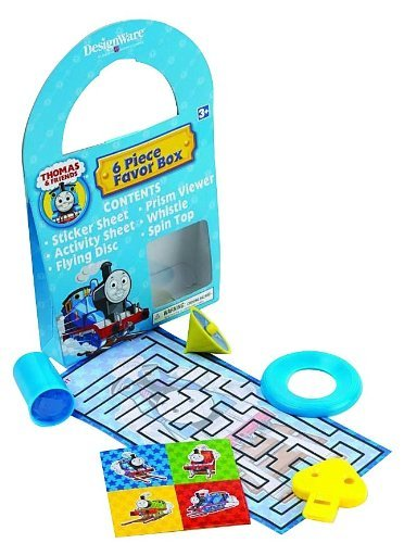 hday Party Supplies - Favor Box [Toy] [Toy] by KidsPartyWorld.com ()