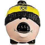 Borussia Dortmund Sparschwein / Spardose / Piggy Bank mit Mütze BVB 09 - plus gratis Aufkleber forever Dortmund