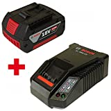 2er POWERPACK 1x Bosch Akku 18V 4,0AH Li-Ion 2607336815 + 1x Ladegerät AL1860CV 2607225321