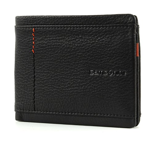 Billfold Coin Wallet (Samsonite Zenith Billfold 4CC + VFL + Coin + 2C Black)