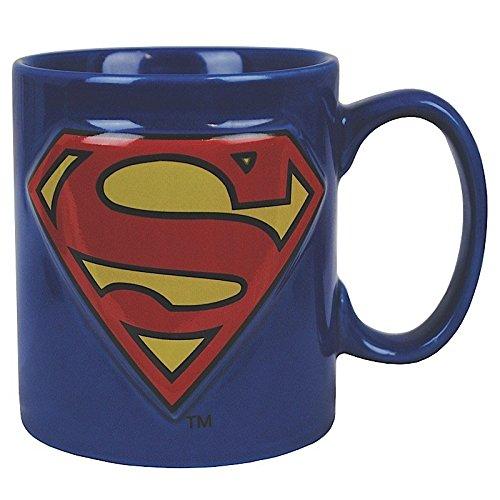 Superman Mug 3D Logo Half Moon Bay