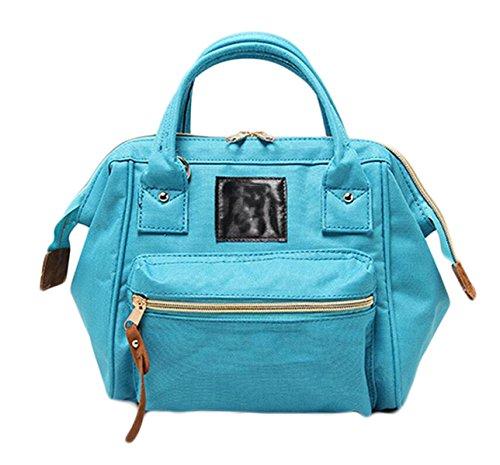 Ms. Messenger Bag Sacchetto Di Svago Oxford Stoffa Tre Bocca Grande Con Un Sacchetto Di Borsa Da Viaggio Di Piacere Rampa Zaino Portatile Green