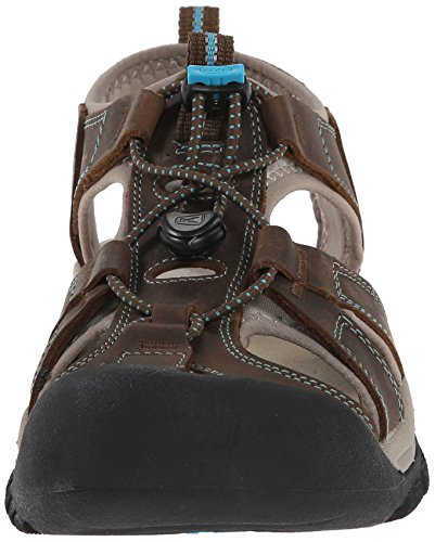 Keen NEWPORT 110220-BISN, Sandali uomo Dark Earth/Caribbean Sea