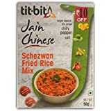Tit-Bit Jain Chinese Schezwan Fried Rice Mix - 50gms (Pack of 5)