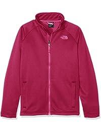 North Face Y CANYONLANDS FULL ZIP JACKET - Chaqueta, color rosa, talla L