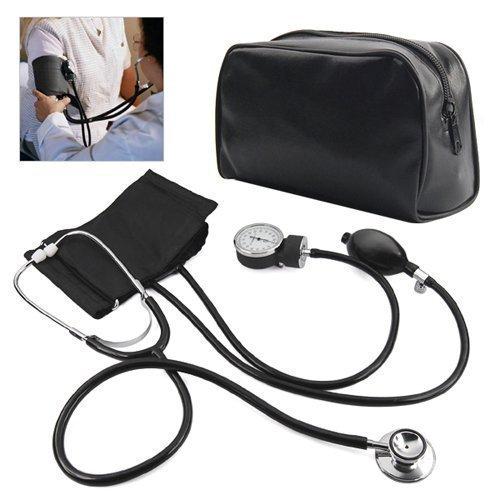 Accessotech Blutdruckmessgerät Blutdruck-Manschette Montior Stethoskop Nylon Cuff - Erwachsene Blutdruckmanschette