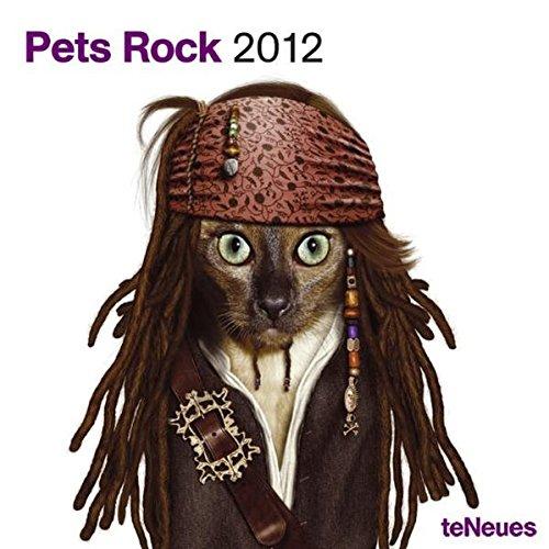 2012 Pets Rock Grid Calendar