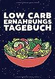 Low Carb Ernährungstagebuch: Dein persönliches Ernährungstagebuch im handlichen DIN A5 Format mit 110 Seiten zum einfachen Ausfüllen von Frühstück, Mittagessen, Abendessen, Snacks und Getränke