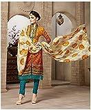Rosaniya Un stitched Woolen salwar suits...