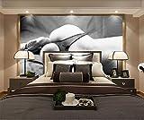 Wxlsl 3D-Tapete Benutzerdefinierte Tv Original Hd Unterwäsche Modell Sexy Graue Hintergrundwand-200Cmx140Cm