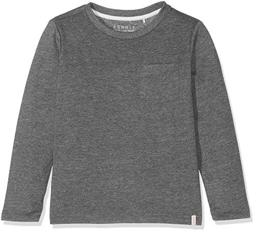 ESPRIT Jungen Langarmshirt RK10114, Grau (Heather Grey 203), 116