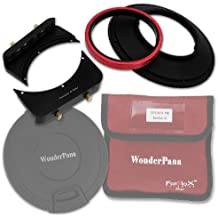 Fotodiox WonderPana 66 System-Kit mit Kern 145 mm Filterhalter/6.6 Halterung Upgrade/Objektivkappe für Canon 14 mm Superweitwinkel EF f/2.8L II USM Objektiv (Full Frame 35 mm)