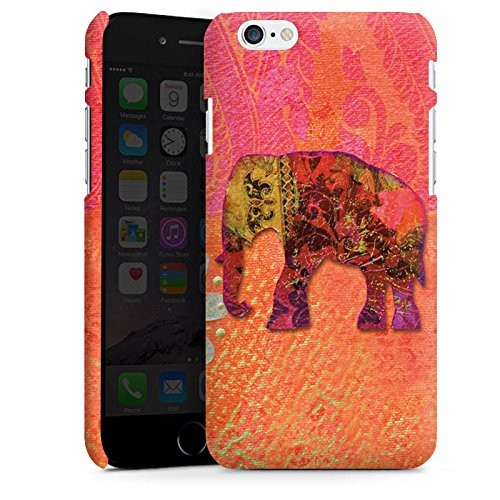 Apple iPhone X Silikon Hülle Case Schutzhülle Elefant Goa Indien Premium Case matt