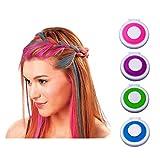 4pcs Modish Pro donne party usa e getta capelli temporanea gesso pastello in polvere