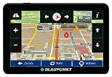 Blaupunkt TravelPilot 54 CE LMU - Navigationssystem mit 12,7 cm (5 Zoll) Display, Bluetooth Freisprecheinrichtung, Kartenmaterial Zentraleuropa, lebenslange Karten-Updates*, TMC Stauumfahrung, Fahrspurassistent