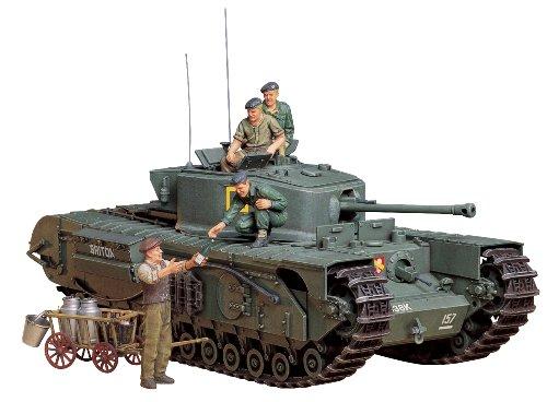 Tamiya 1:35 Britischer Infantrie Panzer Mk.IV Churchill Mk.VII (englische Version) -