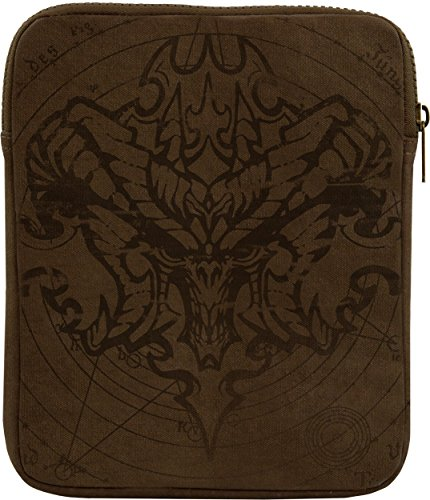 Musterbrand-Diablo-Tablet-Hlle-Demon-Gaming-Bekleidung-Braun-One-size