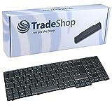 Échange de rechange d'origine pour ordinateur portable clavier/Notebook Clavier allemand QWERTZ pour Acer Extensa 56355635G 5635Z 5635ZG 722076207620G 7620Z TravelMate 510051105600561056207510(Clavier allemand)