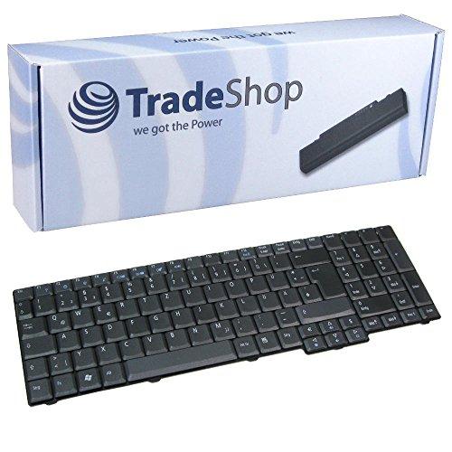 Laptop-Tastatur / Notebook Keyboard Ersatz Austausch Deutsch QWERTZ für Acer Extensa 5635 5635G 5635Z 5635ZG 7220 7620 7620G 7620Z TravelMate 5100 5110 5600 5610 5620 7510 (Deutsches Tastaturlayout) -