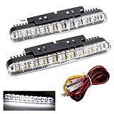 KKmoon2pcs 30LEDs auto clignotants Daytime Running DRL Lampe avec clignotants Feux de signalisation