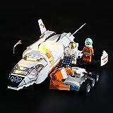 BRIKSMAX Kit di Illuminazione a LED per Lego City Space Port Shuttle di Ricerca su Marte,Compatibile con Il Modello Lego 60226 Mattoncini da Costruzioni - Non Include Il Set Lego.