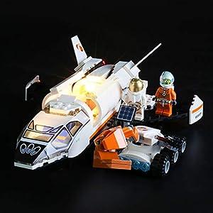 BRIKSMAX Kit di Illuminazione a LED per Lego City Space Port Shuttle di Ricerca su Marte,Compatibile con Il Modello Lego… 0781621990764 LEGO