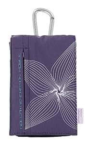 Golla Etui smartbag à rabat ligne Sabine pour Lecteur mp3/mp4 Violet
