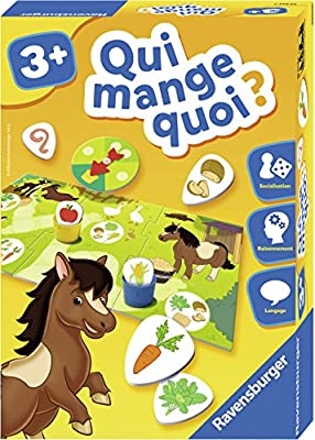 Ravensburger - Qui Mange Quoi - Jeu