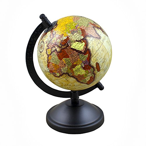 Rotating desktop earth globe world map with stand 8 inches for rotating desktop earth globe world map with stand 8 inches for office classroom kids room home decor buy online in oman office product products in gumiabroncs Image collections