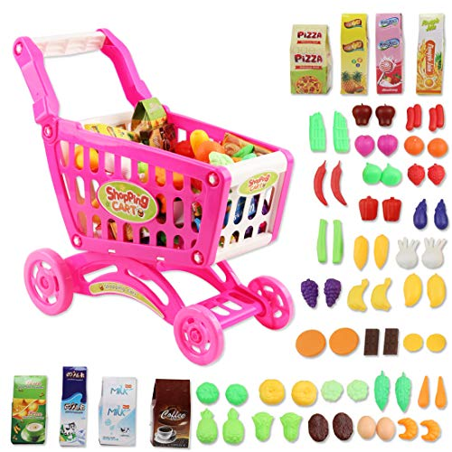 deAO Shopping Cart Trolley for C...