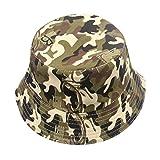 Babybekleidung Hüte & Mützen, SannysisKleinkind Baby Kinder Jungen Mädchen Blumenmuster Bucket Hats Sun Helm Cap (Armee-Grün)