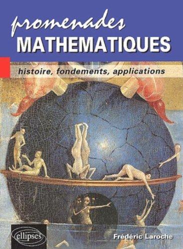 Promenades mathématiques : Histoire, fondements, applications par Frédéric Laroche