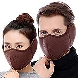 iSpchen Mode Masque Demi-Visage Respirant Unisex Anti-Poussière Masque Cache Nez...