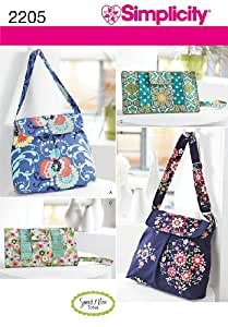 Simplicity Sewing Pattern 2205 Bags