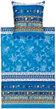 bassetti Bettwäsche ponza V3 blau 135x200 cm neue Kollektion
