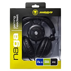 snakebyte Naga Headset – [PS3, PC, Xbox 360]
