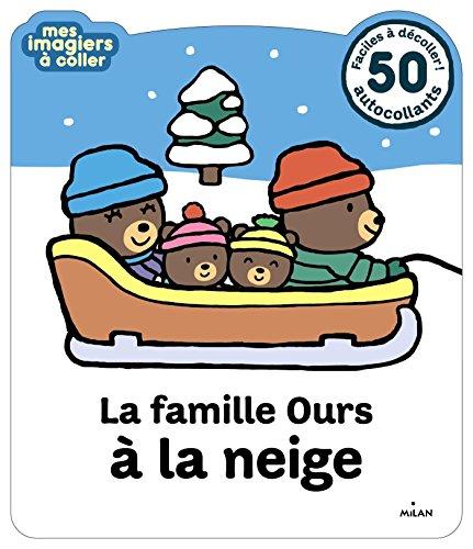 La famille Ours à la neige