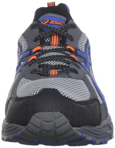 Asics Gel Enduro 8 M Herren Laufschuhe Grey/Blue/Flash Orange