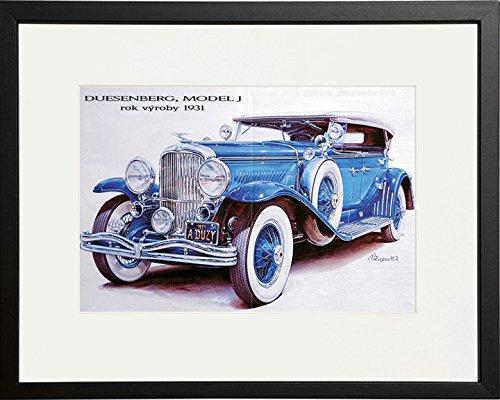 black-framed-vintage-car-duesenberg-model-j-10-x-8