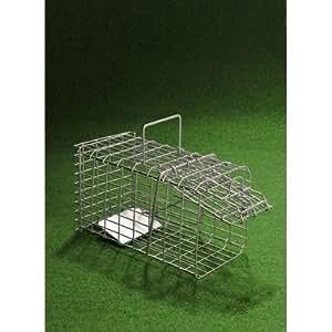 Destockoutils - Cage à nuisibles chatière piège petit modèle pour rat, souris, fouine