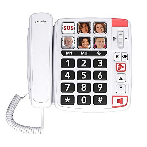 Téléphone filaire pour les séniors Swissvoice Xtra 1110