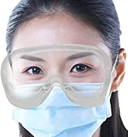 Oriley ORSGR2 Safety Goggles Eye Protection Glasses Anti-Droplets Disposable Protective Eyeglass with Clear Po