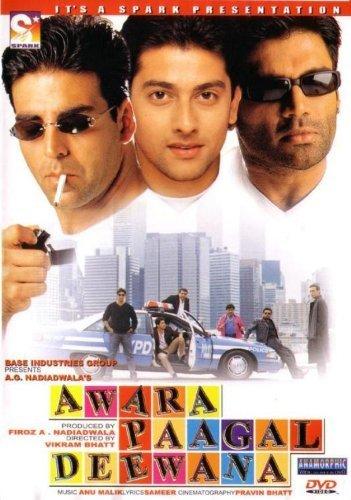 Awara Paagal Deewana (2002) (Hindi Comedy Film / Bollywood Movie / Indian Cinema DVD) by Akshay Kumar